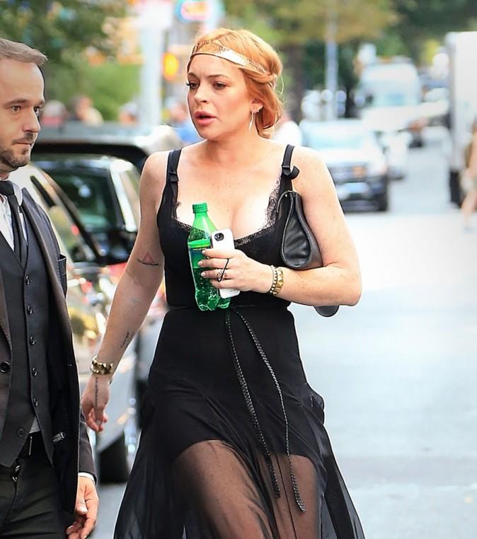 Lindsay Lohan qui ne boit plus d'alcool estpassée aux sodas