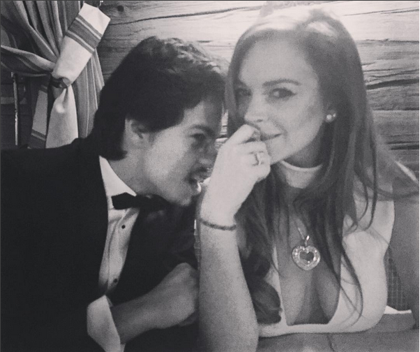 Photos : Lindsay Lohan est amoureuse d'un riche héritier !