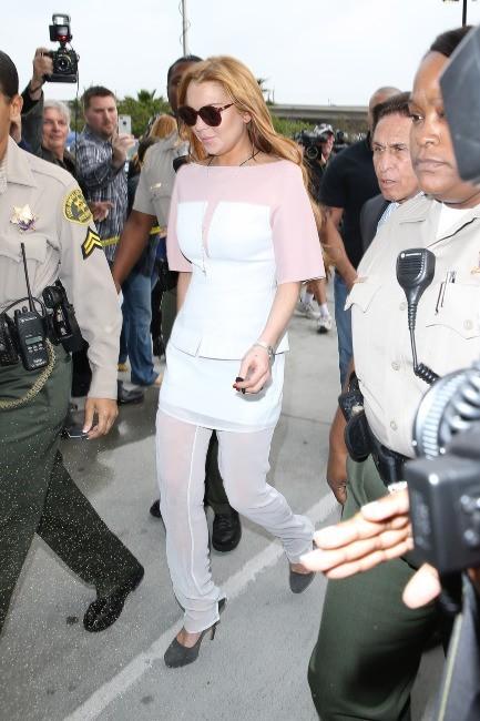 Lindsay Lohan, Los Angeles, 18 mars 2013.