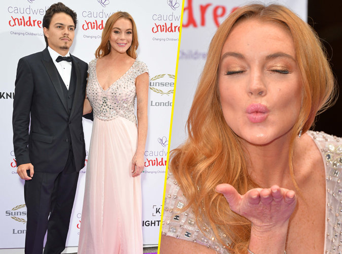Photos : Lindsay Lohan : Elle officialise enfin sa relation sur le tapis rouge !