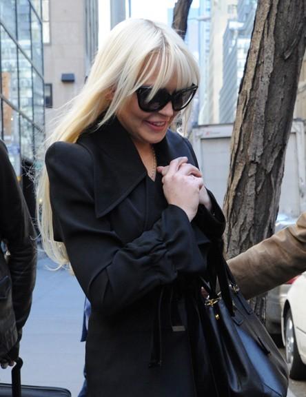 Avant, elle était blonde platine ...