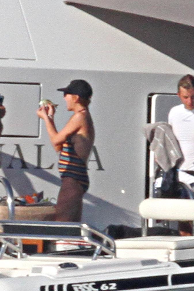 Lindsay Lohan en Italie le 28 juillet 2016