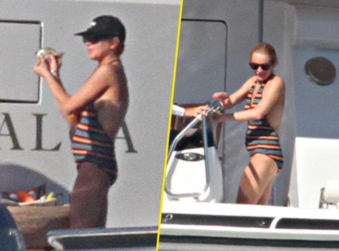 Lindsay Lohan : Etre enceinte ne l'empêche pas de fumer et de boire !