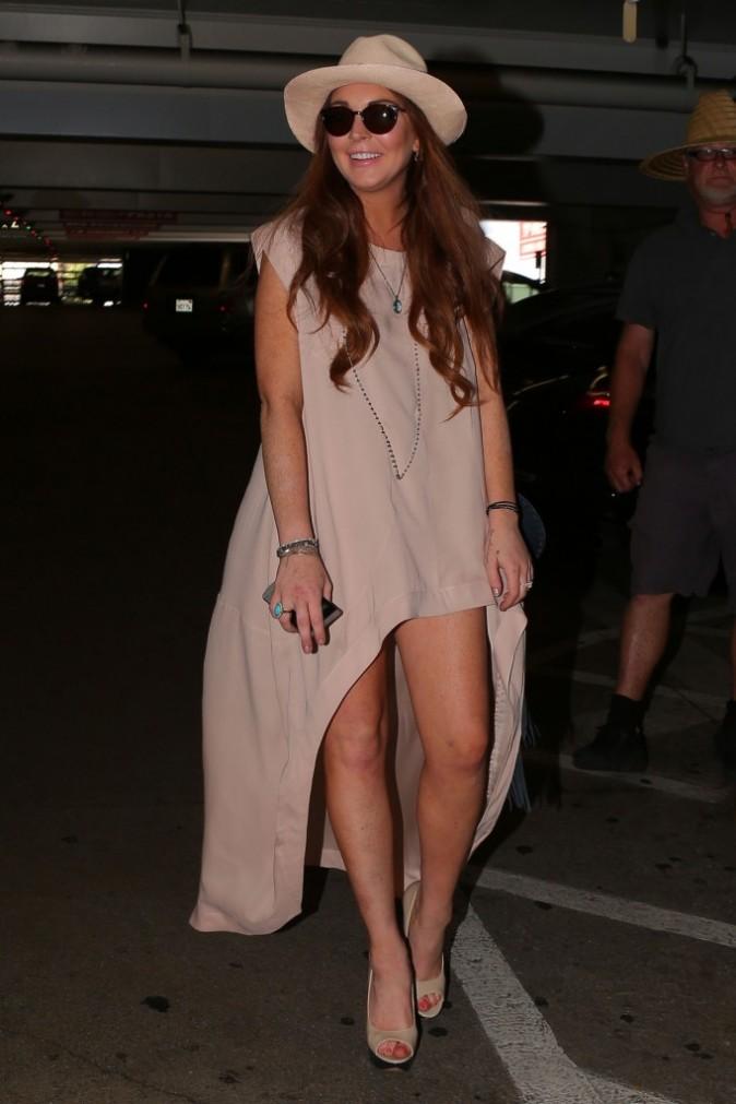 Lindsay Lohan, Chateau Marmont à Los Angeles, 2 Aout 2012