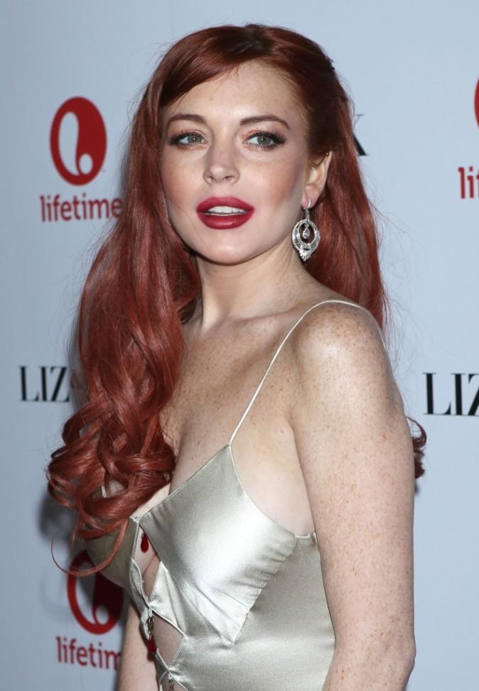 Lindsay Lohan le 20 novembre 2012 à Beverly Hills, Los Angeles