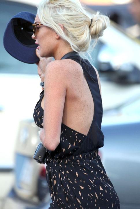 Lindsay Lohan, un oiseau égaré ...