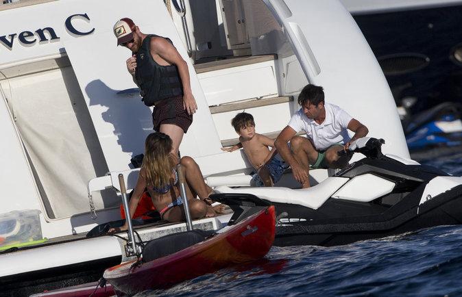 Lionel Messi a décidé de passer ses vacances sur un yacht
