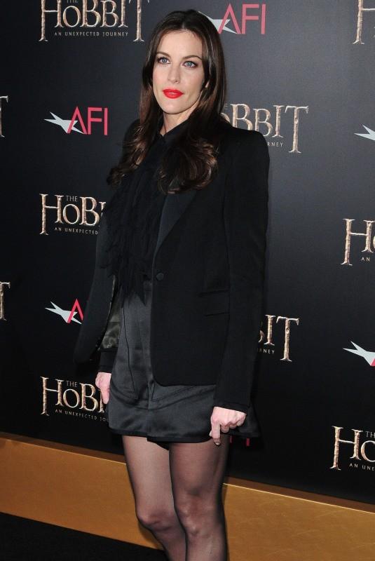 Liv Tyler le 6 décembre 2012 à New York