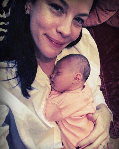 Liv Tyler a posté cette magnifique photo d'elle et de Lula