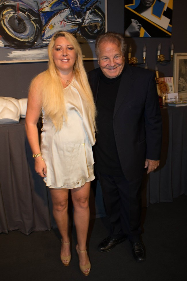 Loana et Massimo Gargia le 22 septembre 2012 à Paris