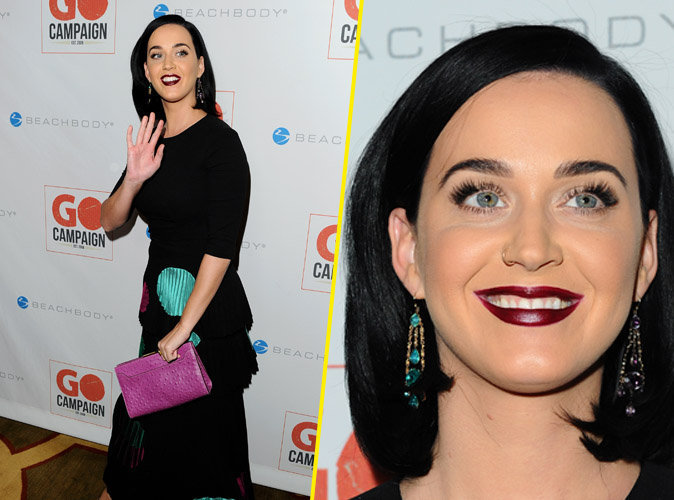 Look tr�s dark pour Katy Perry