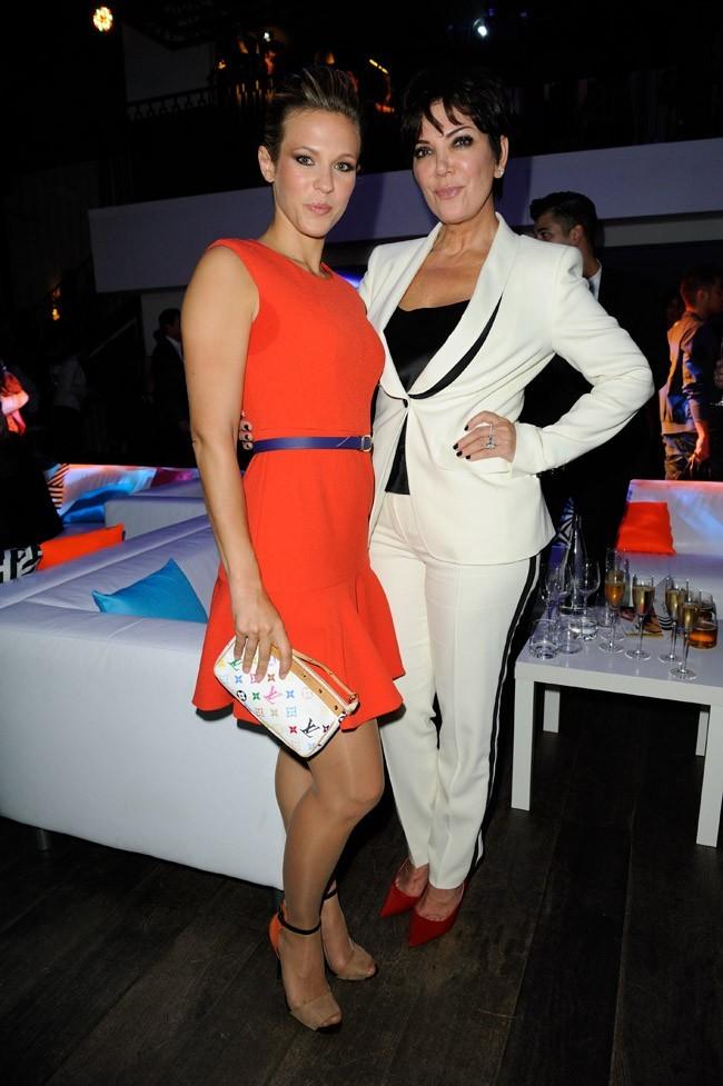 Lorie et Kris Jenner le 19 septembre 2012 à Paris