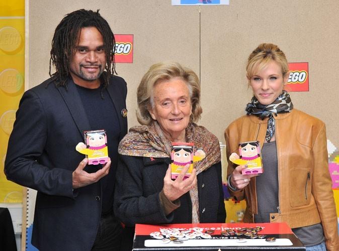 Photos : Christian Karembeu, Bernadette Chirac et Lorie en 2012