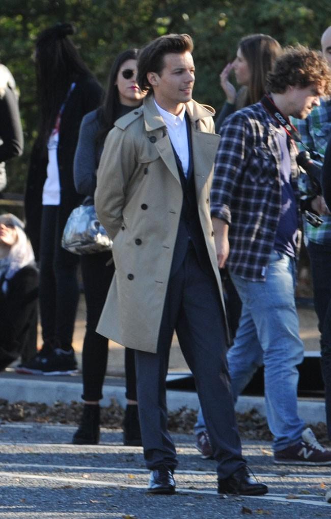Louis Tomlinson à Londres le 28 octobre 2014