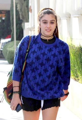 Lourdes Leon à Beverly Hills le 27 janvier 2014