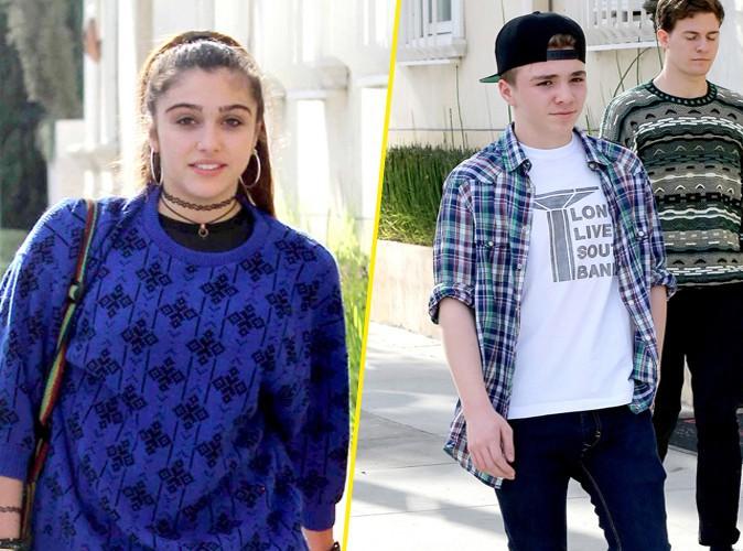 Lourdes Leon et Rocco Ritchie à Beverly Hills le 27 janvier 2014