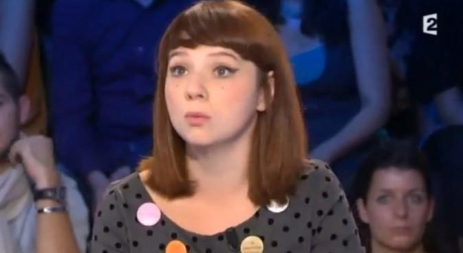 Luce dans l'émission On n'est pas couché du 20 octobre 2012