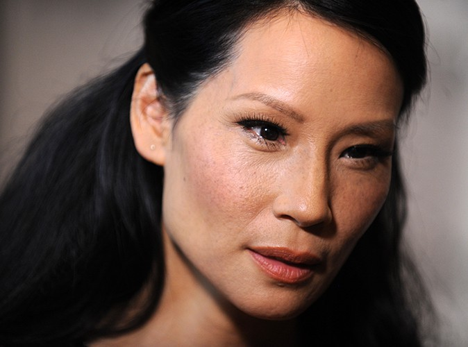 Lucy Liu à New-York le 5 octobre 2013