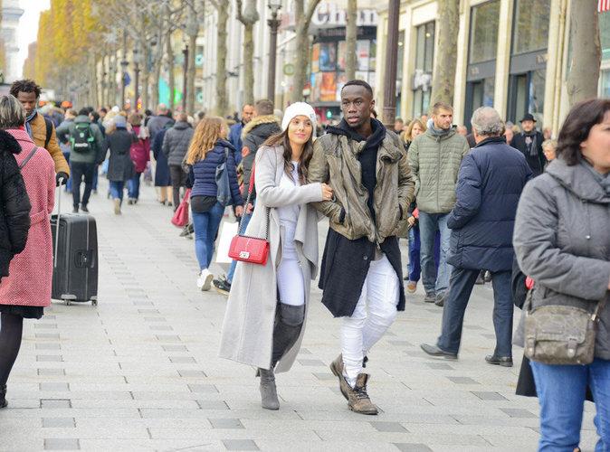 Photos : Ludivine et Bacary Sagna : amoureux et complices en plein Paris !