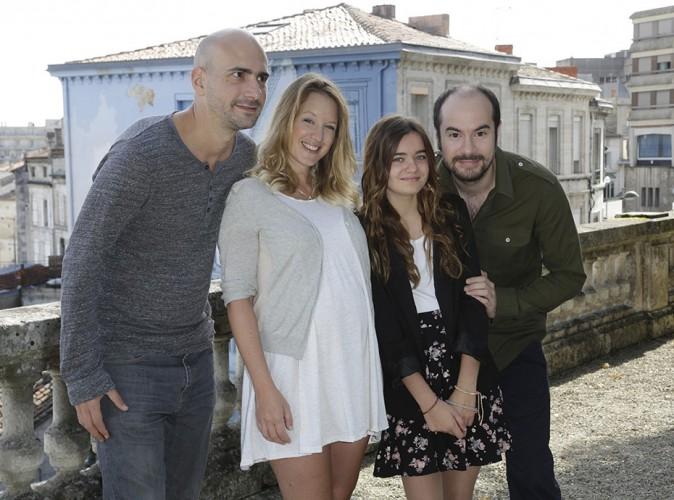 Julien Neel, Ludivine Sagnier, Lola Lasseron et Kyan Khojandi à Angoulême le 24 août 2014