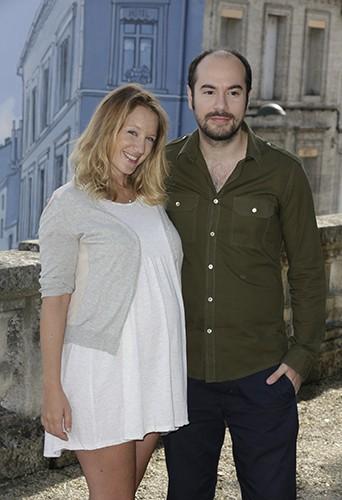 Ludivine Sagnier et Kyan Khojandi à Angoulême le 24 août 2014