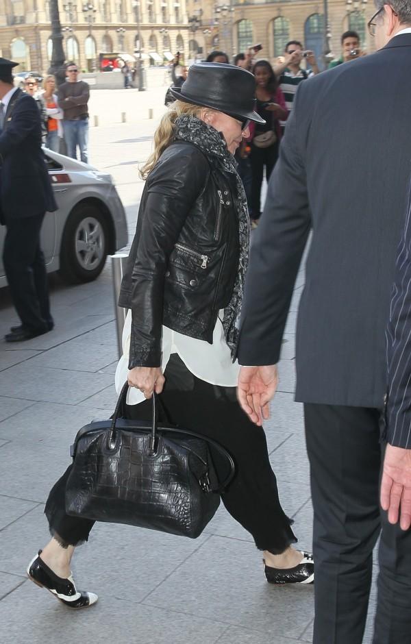 Madonna adore le Ritz !