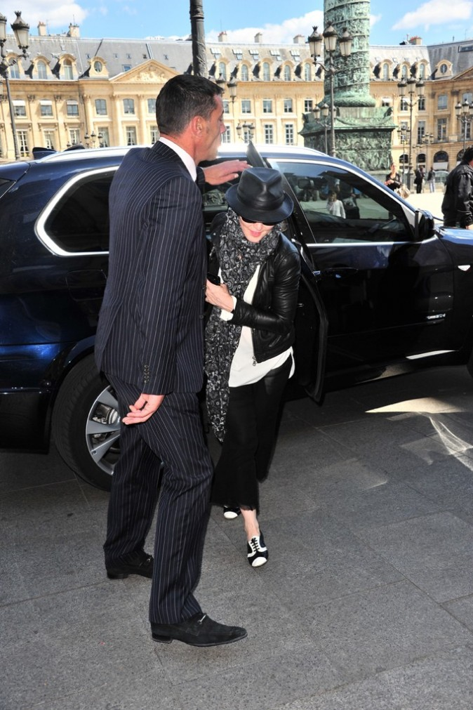 Madonna en mode incognito à Paris !