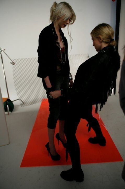 Madonna était là pour la guider !