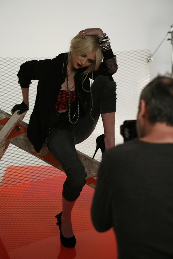Taylor avait tout donné lors du shooting !