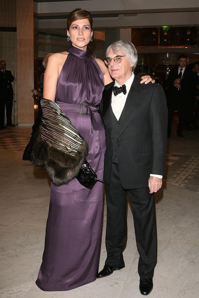 Bernie et Slavica Ecclestone
