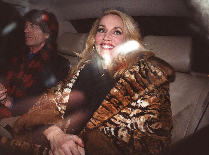 Mick Jagger et Jerry Hall