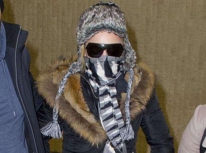 Madonna : elle a abandonné ses béquilles mais pas son look camouflage !