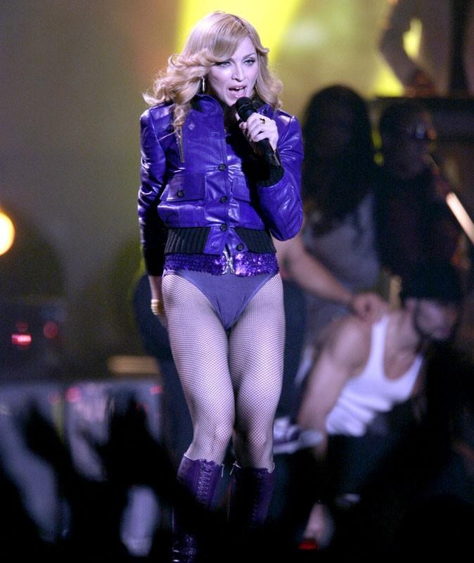 Photos : Madonna sur scène en 2005
