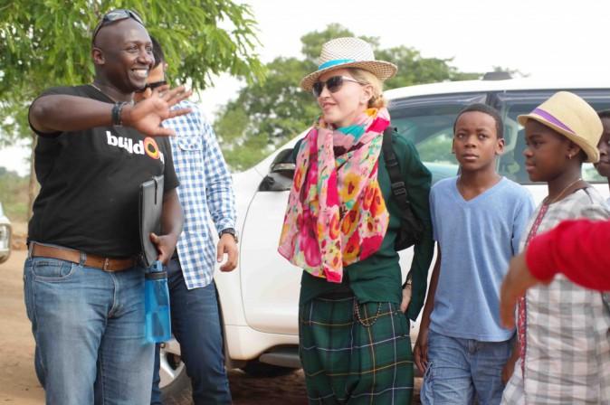 Madonna : la bonne cause, c'est une affaire de famille !