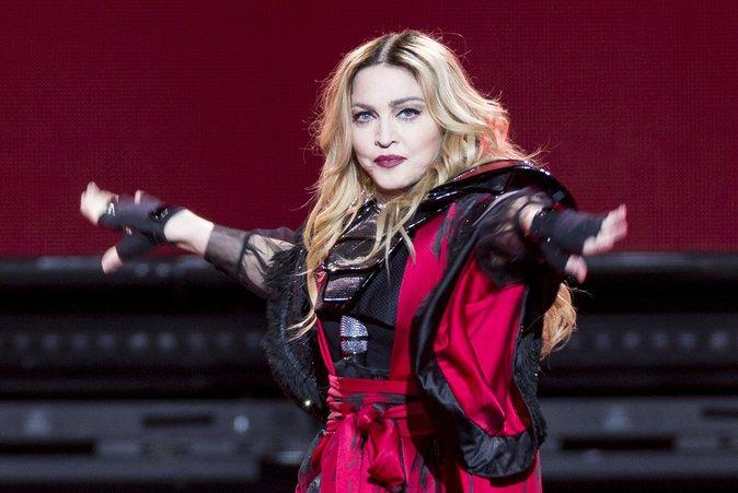 Madonna n'a pas le coeur à chanter...