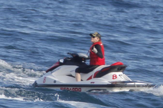 Madonna à Saint Jean Cap Ferrat le 15 août 2013
