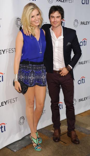 Maggie Grace et Ian Somerhalder lors du PaleyFest à Los Angeles, le 16 mars 2014.