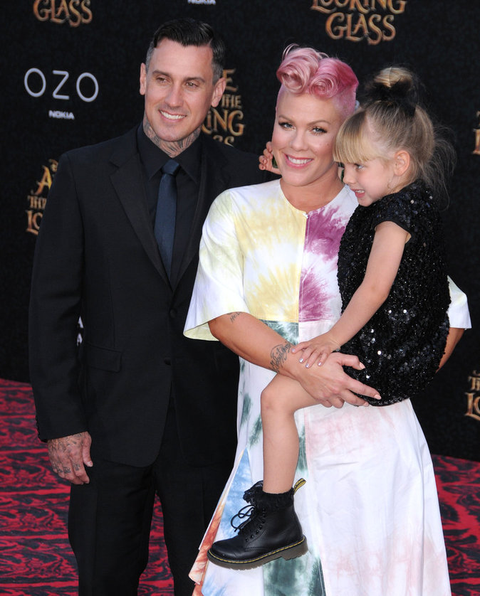 Photos : Pink avec son mari Carey Hart et sa fille Willow Sage Hart