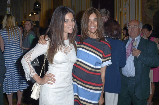 Carine Roitfeld et sa fille Julia