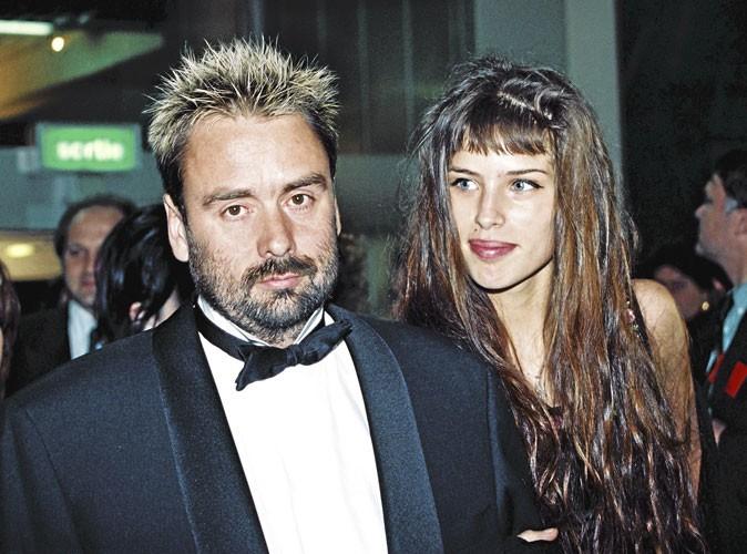 Maïwenn Le Besco et Luc Besson, en 1995