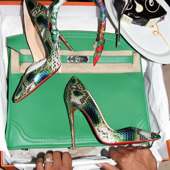 Photos : Majda Sakho : Hermès, Louboutin... Mamadou la gâte !