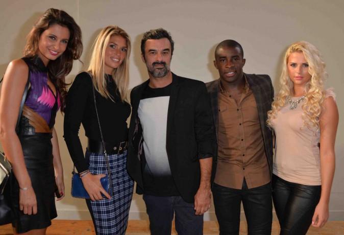 Malika Ménard, Elodie Mavuba et Kelly Vedovelli : trois bombes réunies au défilé Luis Buchinho !