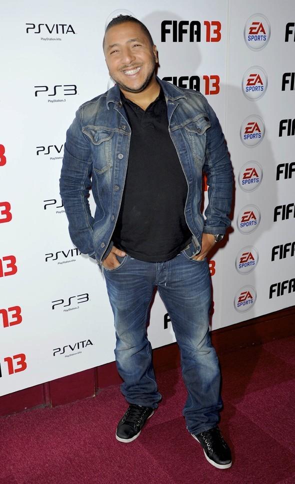 Kamel à la soirée Fifa 2013 à Paris le 25 septembre 2012