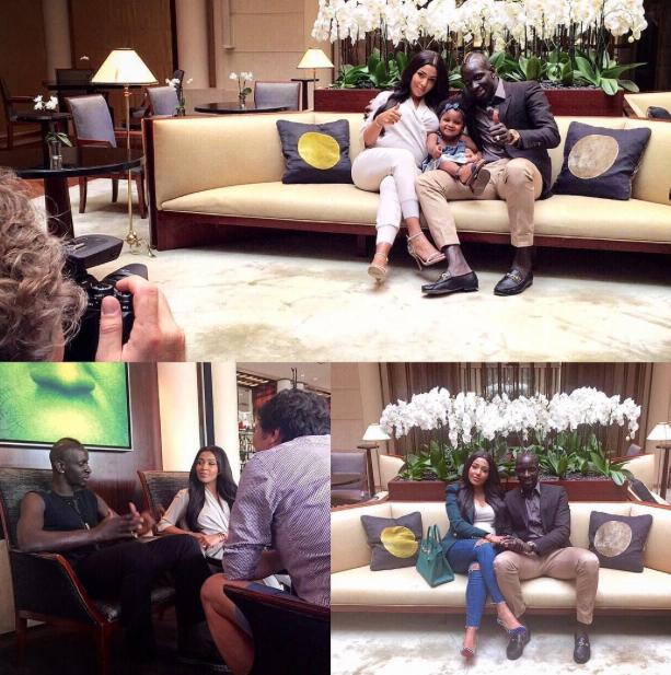 Photos : Mamadou et Majda Sakho : les Kardashian-West n'ont qu'à bien se tenir !