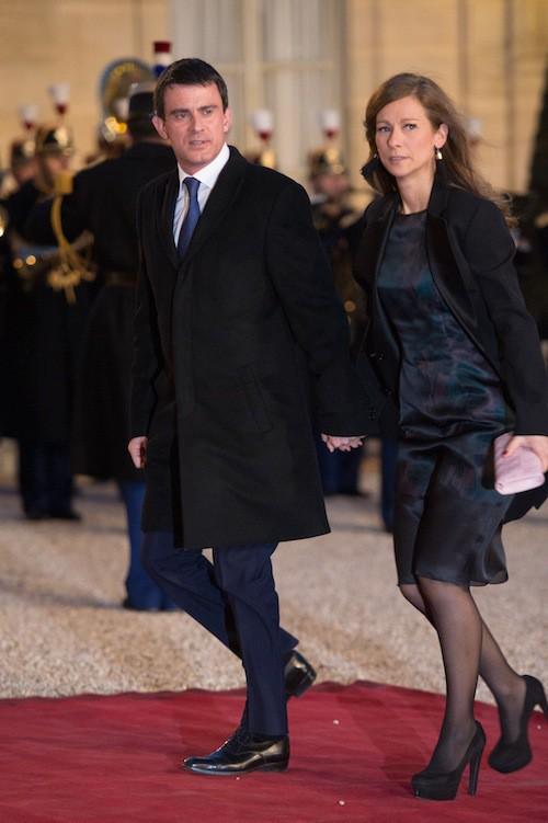 Manuel Valls et sa femme depuis 2010, Anne Gravoin