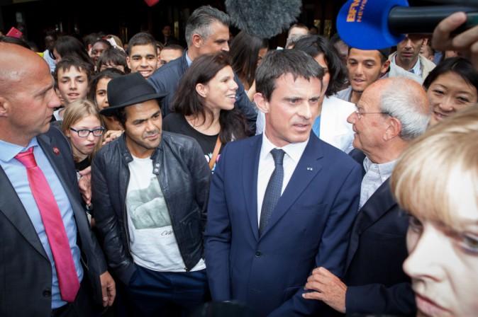 Photos : Manuel Valls et Jamel Debbouze réunis pour la bonne cause !