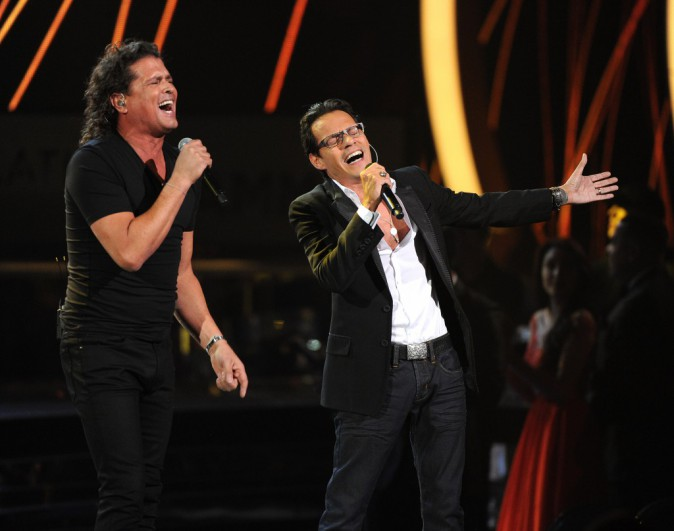 Marc Anthony et Carlos Vives le 20 novembre 2014