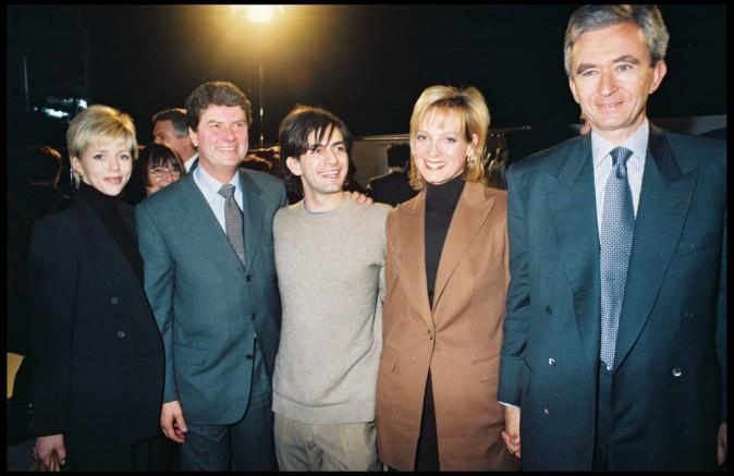Marc Jacobs et Bernard Arnault