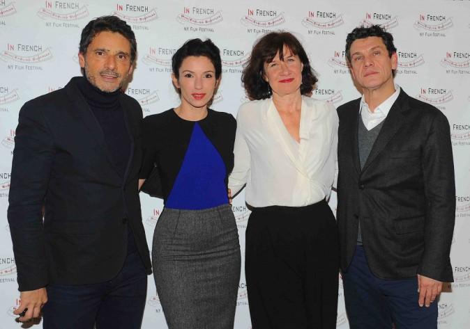 Marc Lavoine, Pascal Elbe, Anne Le Ny et Aure Atika : quatuor de charme à New York !
