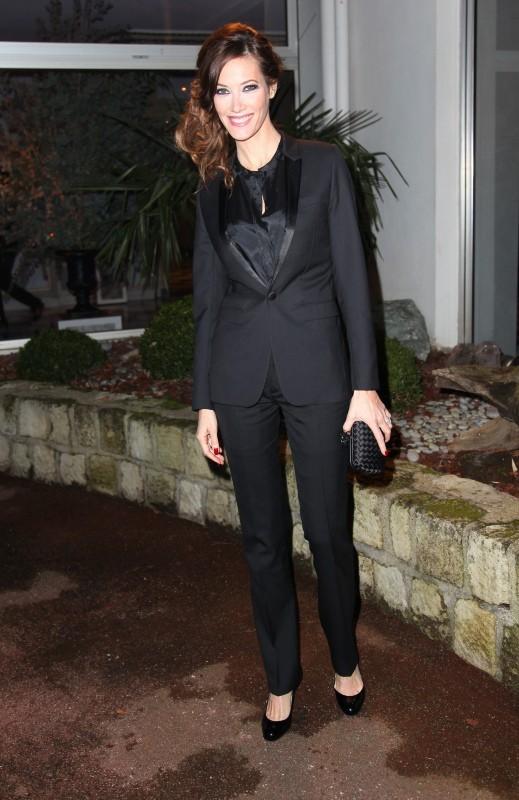 Mareva Galanter lors du Dîner de la mode contre le Sida à Paris, le 24 janvier 2013.